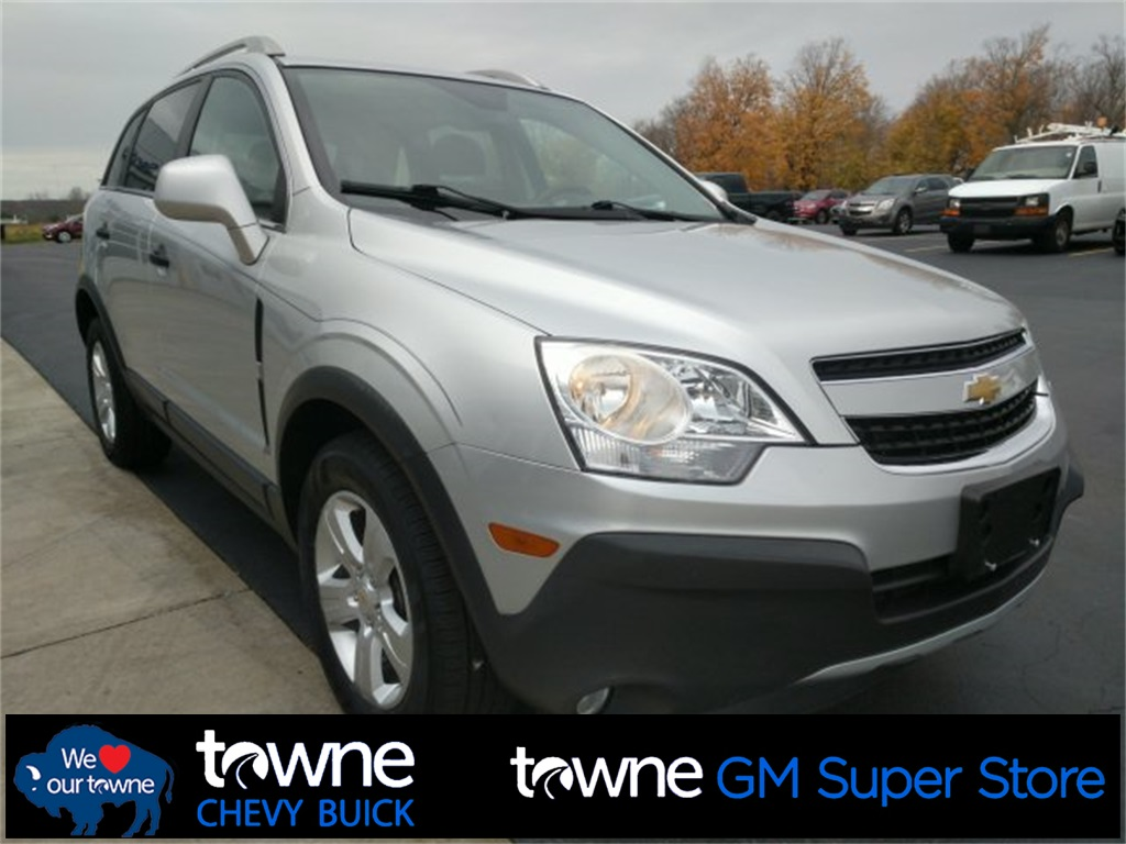 Pre-Owned 2013 Chevrolet Captiva Sport 2LS