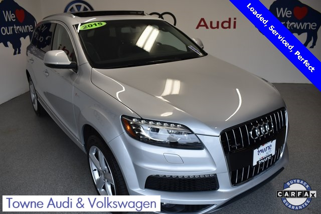 Pre Owned 2015 Audi Q7 3 0t S Line Prestige 4d Sport Utility In