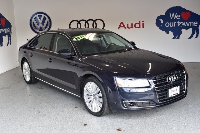 Pre Owned 2015 Audi A8 L 40t 4d Sedan In Orchard Park 227xpu