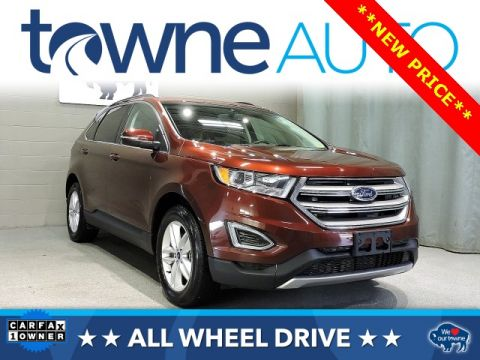 Pre Owned  Ford Edge Sel D Sport Utility In Orchard Park Hsa Towne Mazda